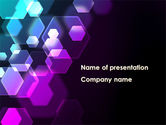 Abstract/Textures: Hexagonal Bokeh PowerPoint Template #09451