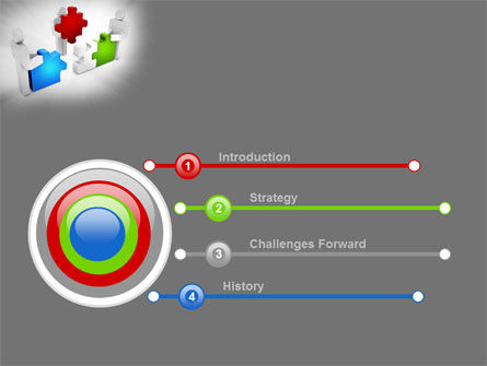 Completing The Puzzle PowerPoint Template, Slide 3, 09452, Consulting — PoweredTemplate.com
