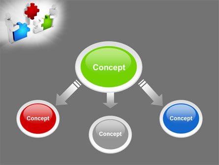 Completing The Puzzle PowerPoint Template, Slide 4, 09452, Consulting — PoweredTemplate.com