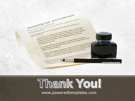 Power Of Attorney PowerPoint Template Slide 20