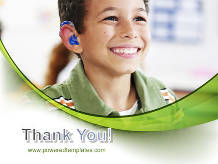 Hearing Aid PowerPoint Template Slide 20