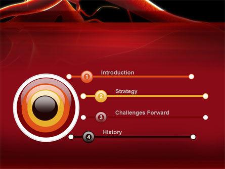 Nervous System PowerPoint Template, Slide 3, 09455, Medical — PoweredTemplate.com