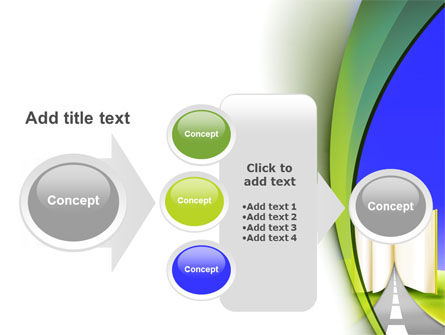 Road to Knowledge Country PowerPoint Template Slide 17