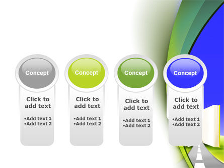 Road to Knowledge Country PowerPoint Template Slide 5