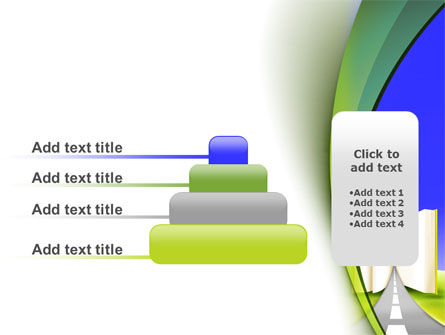 Road to Knowledge Country PowerPoint Template Slide 8