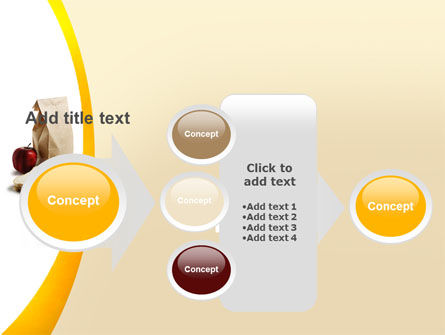Bag Of Food PowerPoint Template Slide 17