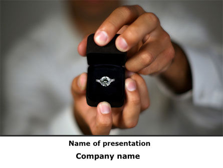 Will You Marry Me PowerPoint Template, 09460, Holiday/Special Occasion — PoweredTemplate.com
