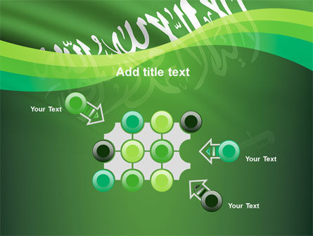 The Green Banner Of The Prophet Muhammad PowerPoint Template Slide 10