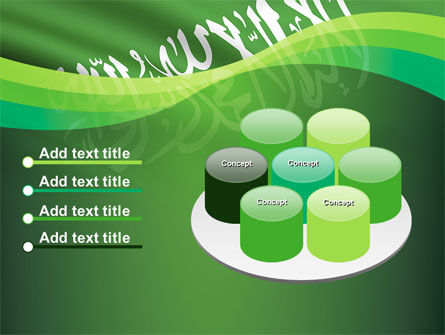 The Green Banner Of The Prophet Muhammad PowerPoint Template Slide 12