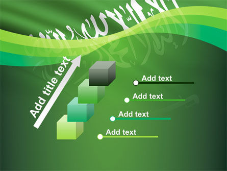 The Green Banner Of The Prophet Muhammad PowerPoint Template Slide 14