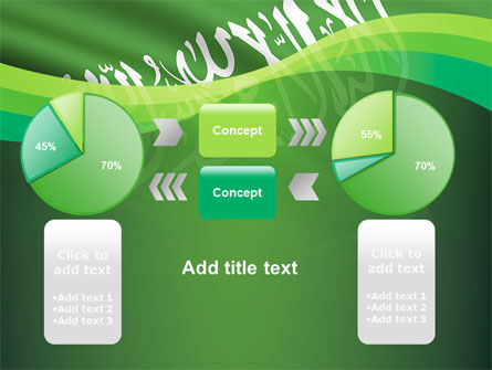 The Green Banner Of The Prophet Muhammad PowerPoint Template Slide 16