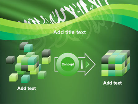 The Green Banner Of The Prophet Muhammad PowerPoint Template Slide 17