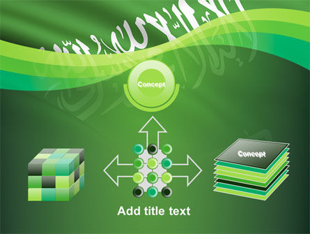 The Green Banner Of The Prophet Muhammad PowerPoint Template Slide 19