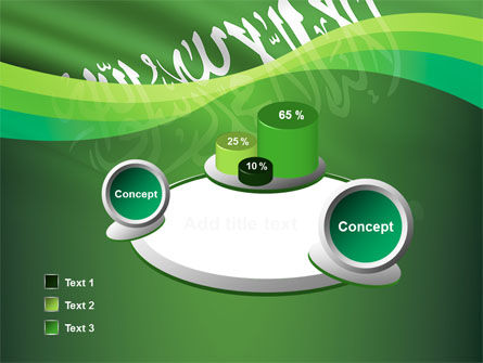 The Green Banner Of The Prophet Muhammad PowerPoint Template Slide 6