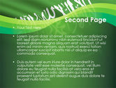 The Green Banner Of The Prophet Muhammad PowerPoint Template#2