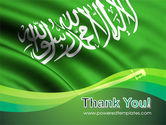 The Green Banner Of The Prophet Muhammad PowerPoint Template#20