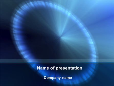 Halo PowerPoint Template, 09462, Abstract/Textures — PoweredTemplate.com