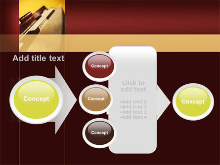 Folder With Info PowerPoint Template Slide 17