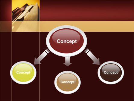 Folder With Info PowerPoint Template Slide 4