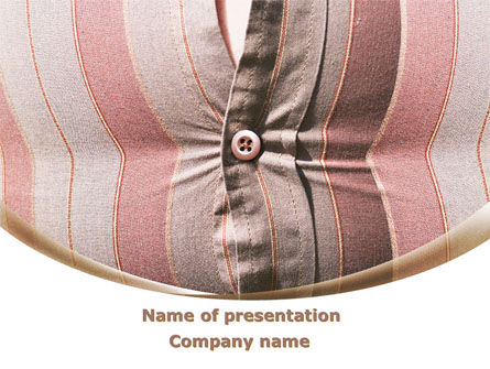 Business Concepts: Fat Belly PowerPoint Template #09467