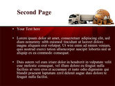 Cargo Delivery Service PowerPoint Template#2