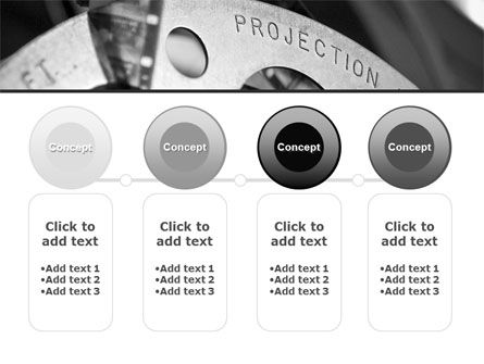 Projection Reel PowerPoint Template Slide 5