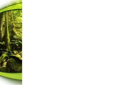 Jungle Forest PowerPoint Template, Slide 3, 09472, Nature & Environment — PoweredTemplate.com