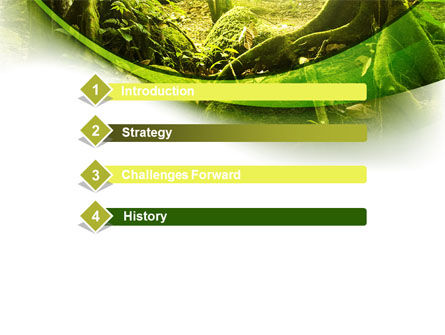 Jungle forest powerpoint template backgrounds 09472 jungle forest powerpoint template slide 3 09472 nature environment poweredtemplate toneelgroepblik