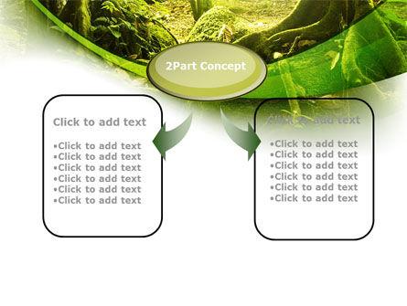 Jungle Forest PowerPoint Template, Slide 4, 09472, Nature & Environment — PoweredTemplate.com