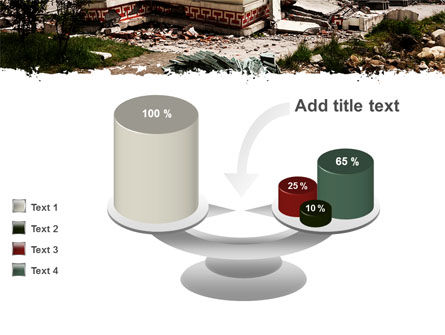 Destroyed Buildings PowerPoint Template Slide 10