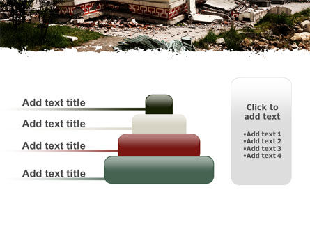 Destroyed Buildings PowerPoint Template Slide 8