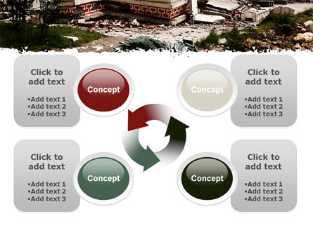 Destroyed Buildings PowerPoint Template Slide 9