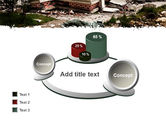 Destroyed Buildings PowerPoint Template#16