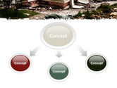 Destroyed Buildings PowerPoint Template#4