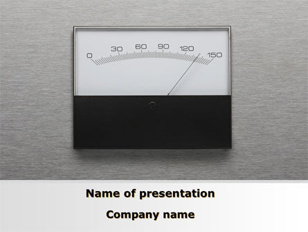 Analog Meter PowerPoint Template