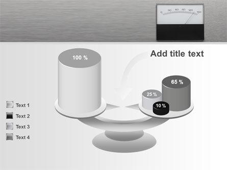 Analog Meter PowerPoint Template Slide 10