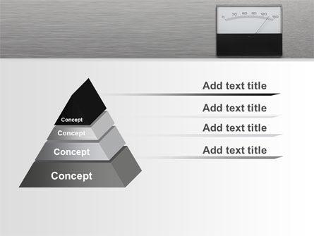 Analog Meter PowerPoint Template Slide 12
