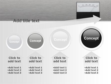 Analog Meter PowerPoint Template Slide 13