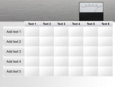 Analog Meter PowerPoint Template Slide 15
