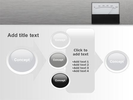 Analog Meter PowerPoint Template Slide 17
