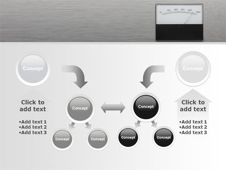 Analog Meter PowerPoint Template Slide 19