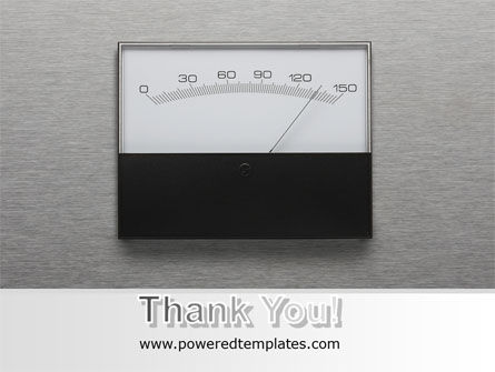 Analog Meter PowerPoint Template Slide 20