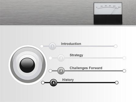 Analog Meter PowerPoint Template, Slide 3, 09475, Careers/Industry — PoweredTemplate.com