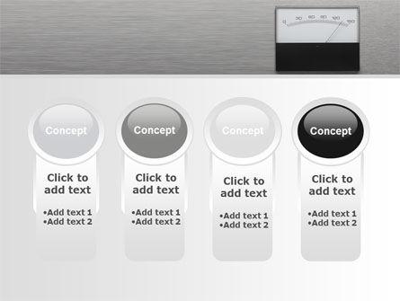 Analog Meter PowerPoint Template Slide 5