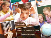 Education & Training: Elementary Education PowerPoint Template #09477