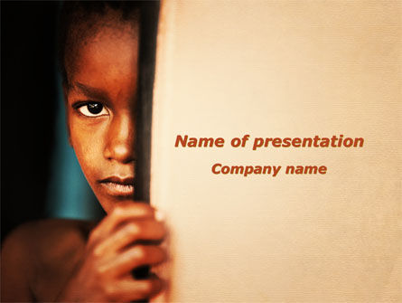 People: Brazilian Teen PowerPoint Template #09479
