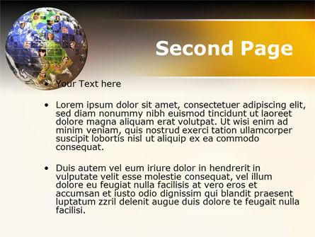 Global Fellowship PowerPoint Template, Slide 2, 09480, Global — PoweredTemplate.com
