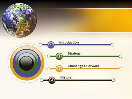Global Fellowship PowerPoint Template, Slide 3, 09480, Global — PoweredTemplate.com