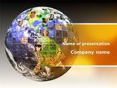 Global: Global Fellowship PowerPoint Template #09480