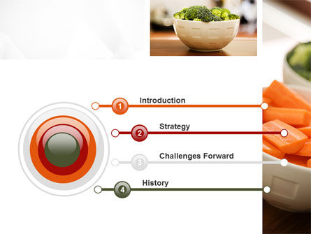 Fresh Food PowerPoint Template, Slide 3, 09481, Food & Beverage — PoweredTemplate.com